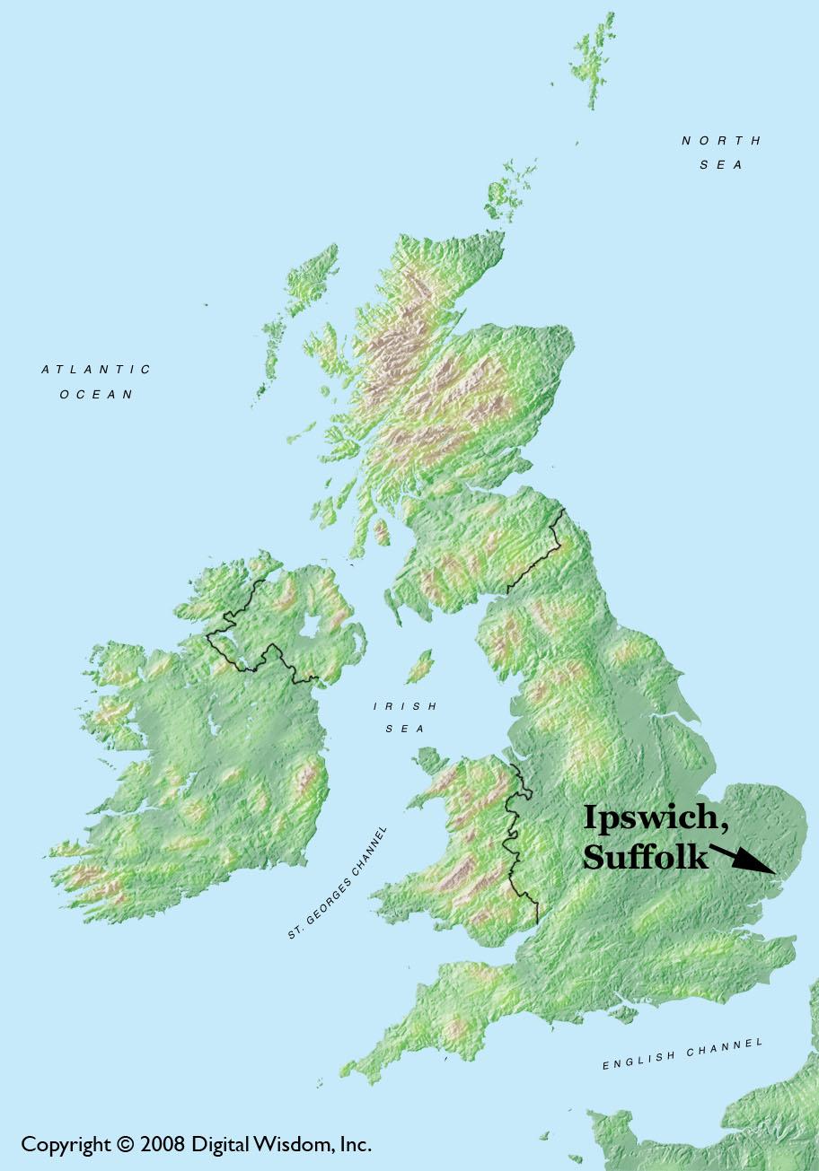 Ipswich Uk Map.Ipswich England Planet Ipswich A Bridge Between The Ipswiches