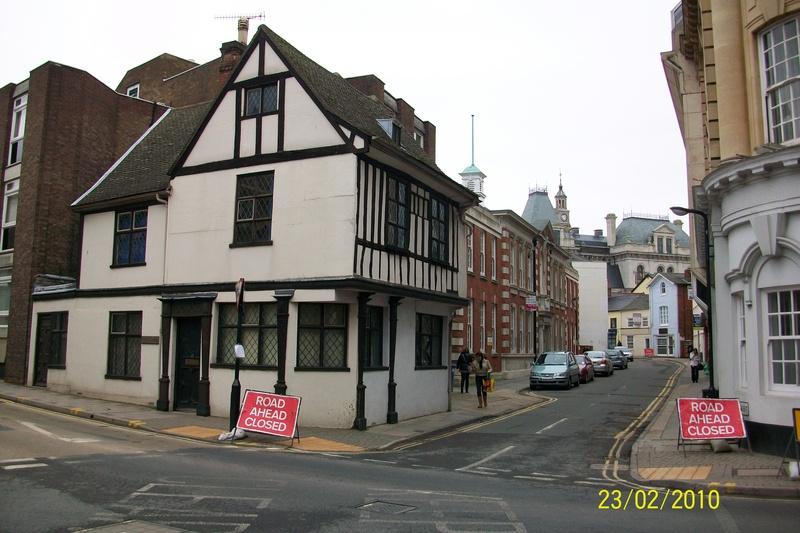 Corner of Elm Street & Museum Street