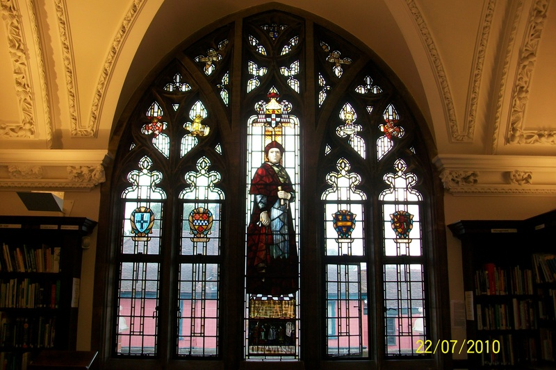 Thomas Wolsey window, Ipswich Library