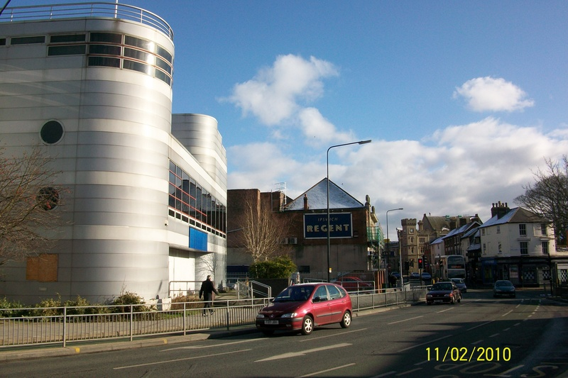 The Odeon Cinema (now closed) & The Regent Theatre
