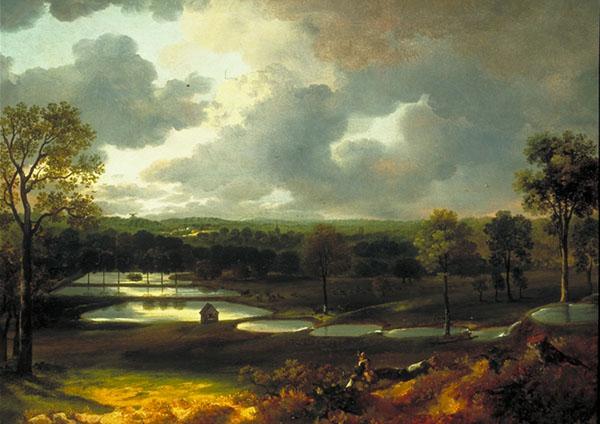 Holywells Park, by Thomas Gainsborough