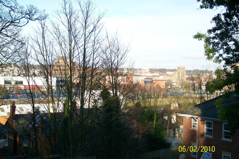 Ipswich From Willoughby Road