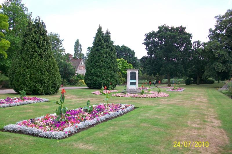 Waterside Works Memorial, Bourne Park
