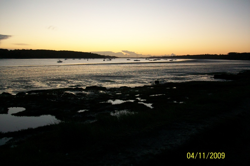 River Orwell at dawn