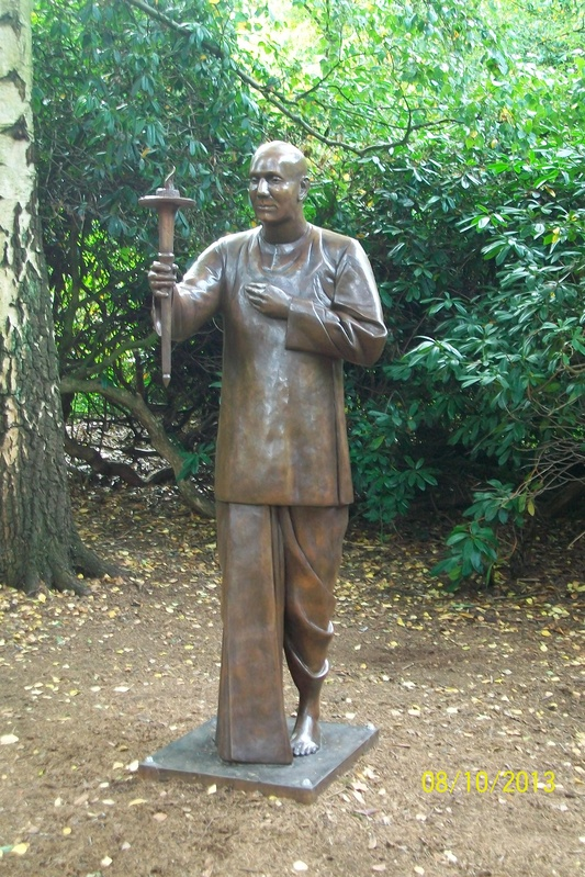 Sri Chinmoy Statue, Chantry Park